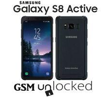 Samsung Galaxy S8 Active SM-G892A - 64GB - Meteor Gray (GSM Unlocked) Good!!