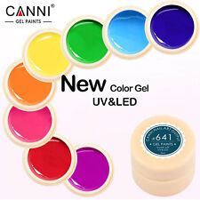 NEW CANNI Solid Pure UV Soak Off Gel Paint Color  Nail Art French Tips #501-530