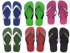 HAVAIANAS BRASIL LOGO Flip Flops 10 DIFFERENT COLOURS