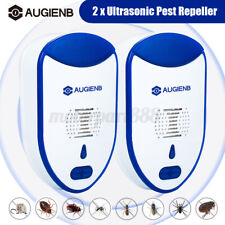 2/4/6pcs AUGIENB Ultrasonic Pest Repeller Control Electronic Repellent Mice Rat