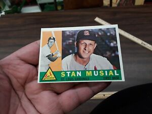1960 topps stan musial #250