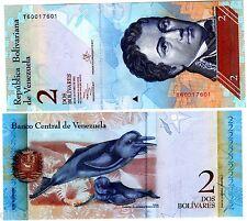 VENEZUELA Billet 2 BOLIVARES 2012   P88 DAUPHINS UNC NEUF