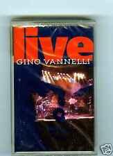 CASSETTE TAPE (NEW) GINO VANNELLI LIVE