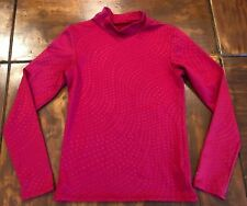 4e21c198 Boy's Champion Red Long Sleeve Shirt Youth Large Mock Turtle Neck Star  Design