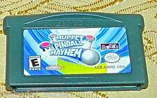 MUPPET PINBALL MAYHEM GAME BOY GAMEBOY ADVANCE GBA SP DS LITE SYSTEM GAME RARE