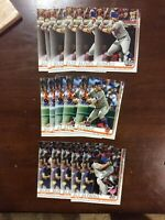 Lot of (16)2019 Topps Update Pete Alonso RC #US47 #US262 #198 New York Mets