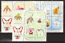 1Cuba 1969 Mi 1249-1263 Orchids  - CTO