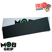 "MOB Griptape Skateboard Grip Tape Sheet, Black PRE-CUT 33""x9"""