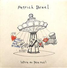 Patrick Bruel CD Single Lettre Au Père Noel - Promo - France (EX+/M)
