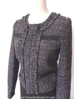 PORTMANS Women's Jacket Size 8 and 10  US 4 and 6 Wool Blend Long Sleeve