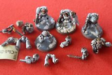 Games Workshop Warhammer 40k Space Wolves Terminators Squad Painted Wolf Army GW