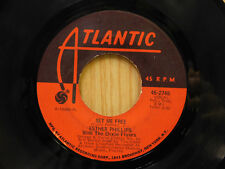 Esther Phillips 45 Set Me Free bw Brand New Day   Atlantic   VG+ to VG++