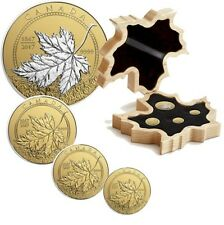 2017 Canada 4-Coin Gold Fractional Maple  – A Celebration of Canada (1867-2017)
