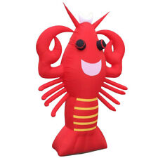 Inflatable Lobster Advertising Display Giant 2M Attractive Restaurant Decoration