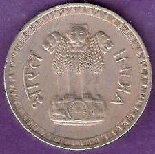 INDIA 1975 1 RUPEE COIN