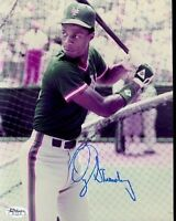 Darryl Strawberry Early Signed Jsa Cert Sticker 8x10 Photo Authentic Autograph
