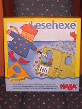 Lernspiel:Lesehexe von Haba,6-8 Jahren,von 1-6 Spielern,aus einem gepflegtem Ni