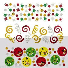ANGRY BIRDS PARTY SUPPLIES TABLE CONFETTI VALUE PACK OF 34g (1.2 oz)