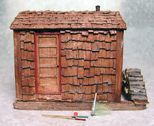ICE FISHING SHANTY O On30 Railroad Structure Building Resin Unpainted Kit FR535