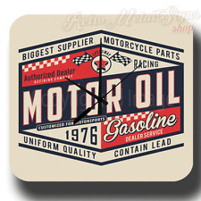 SPEEDWAY SERVICE MOTOR OIL VINTAGE RETRO GARAGE METAL TIN SIGN WALL CLOCK