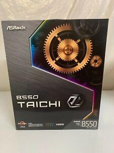 ASRock B550 TAICHI AM4 AMD B550 SATA 6Gb/s ATX AMD Motherboard Computer Gaming