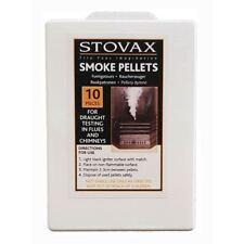 Stovax Smoke Pellets pour cheminée de Fumée Testing Pack de 10 Smoke Pellets