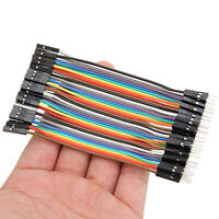 800pcs 10cm Male To Female Câble Jumper Dupont Wire For Arduino