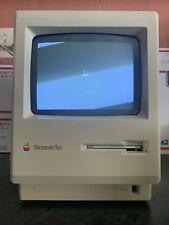 Vintage Apple Macintosh Plus Desktop Computer - M0001A -Carry Bag And Disc Too!