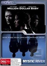 Million Dollar Baby/ Mystic River (DVD, 2-Disc set), Region-4, Like new