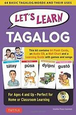 LET'S LEARN TAGALOG - GASMEN, IMELDA FINES - NEW BOOK