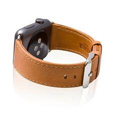 SVAEX Watch Straps for Apple Watch - 38 / 42 mm - Genuine Retro Leather Band