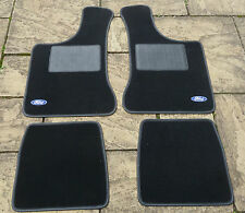 """FORD ANGLIA 105E NEW 4 PART OVERMAT CARPET SET WITH """"FORD"""" LOGOS"""