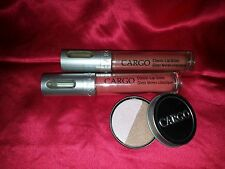Cargo Classic Lip Gloss & eyeshadow  x3 full-size tabago/luxor   nwob
