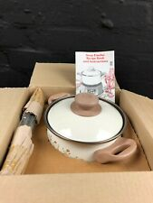 Swan Eternal Beau Fondue Pan Set Brand New In Original Box