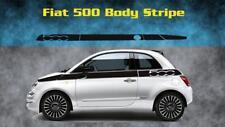 Fiat 500 Vinyl Decal Sticker Racing Stripe Graphic Kit Side 500C 500L 500X