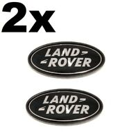 2 x Land Rover Front Rear Grille Boot Badge Black Range Rover Sport Evoque  LR4