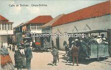 BOLIVIA RAILWAYS CALLE DE BOLIVAR ORURO