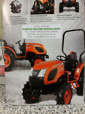 Product Brochure Kioti CK3510 Compact Tractor Sales Service & Parts .
