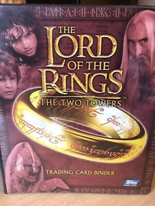 Lord of the Rings The Two Towers Binder by Topps 2002