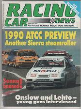 Racing Car News 1990 Feb Nissan Skyline AUSCAR Brock Rohan Onslow Formula SAierr