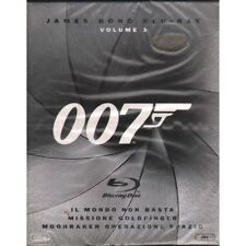 007 James Bond Box 3 BRD Blu Ray Sigillato 8010312082498