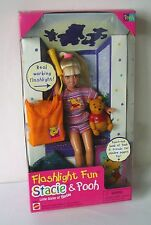 Barbie Little Sister ~ Flashlight Fun Stacie & Pooh ~ NEW in Box