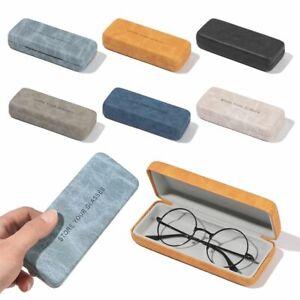 Portable Hard Eyeglass Case Reading Glasses Box Glasses Case Spectacle Cases