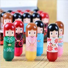 Doll Lipstick Clear Lip Balm Lip Gloss Moisturizing Women Girl Makeup Tools