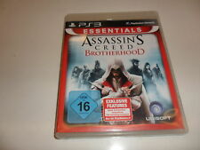PlayStation 3  PS 3  Assassinss Creed Brotherhood - Essentials Edition