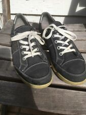 ARA LUFTPOLSTER  Black Suede Sneaker Casual Shoes Size 41