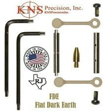 KNS Pins Anti-Walk Pins Non-Rotating NRTHP Mod 2  FDE/TAN  Side Plates .154 PIN