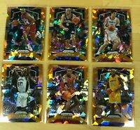 2019-20 Panini Prizm NBA Basketball ORANGE Ice U You Pick Complete Your Set