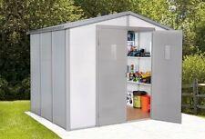 Geräteschuppen mit 5,1-10 m² Fläche und 15-19mm Wandstärke