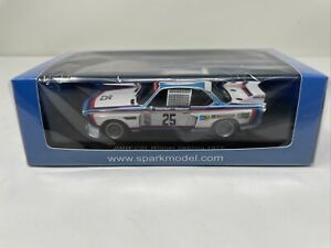 Spark 1:43 BMW CSL 1975 Sebring winner 43SE75 Stuck/Posey/Redman BRAND NEW!!